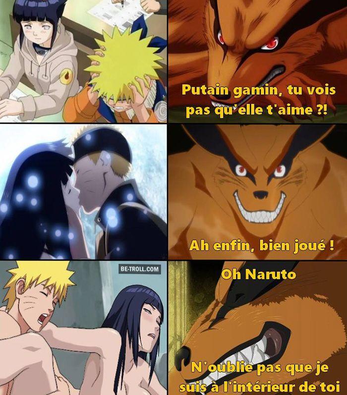 Quand Naruto et Hinata essayent d'avoir un peu d'intimité...