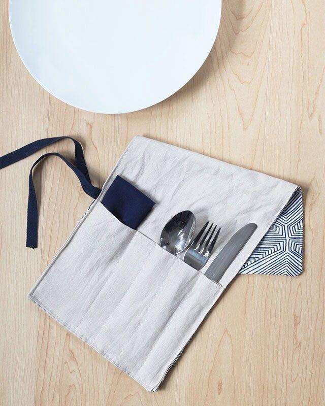 utensils suitcase   – DIY