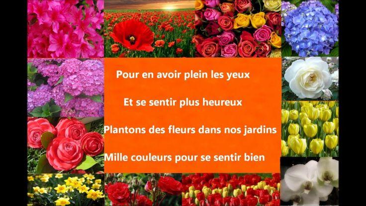Chanson pour le printemps : Fleurs aux mille couleurs Eléa Zalé
