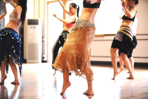 Belly dancing classes are fun!