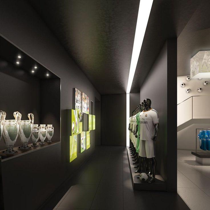 Real Madrid Café, Dubái, 2014 - Intercon Interior design architecture