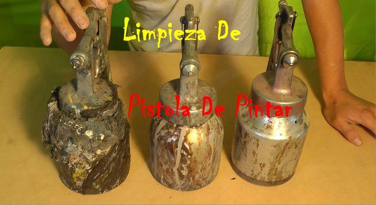 Truco De Limpieza Para Pistola y Otras Herramientas - Quitar Laca Barniz...