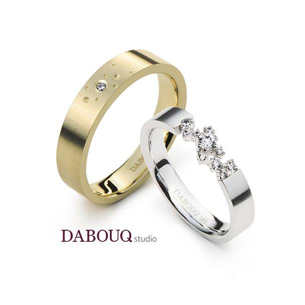 Dabouq Studio Couple Ring - DR0011 - Simple+ #DABOUQ #Jewelry #쥬얼리 #CoupleRing #커플링 #ProposeRing #프로포즈링 #프로포즈반지 #반지 #결혼반지 #Dai반지 #Diamond #Wedding_Ring  #Wedding_Band #Gold #White_Gold #Pink_Gold #Rose_Gold