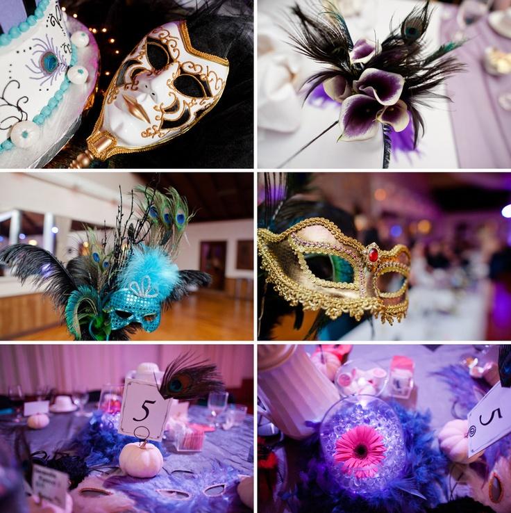 I Like The Idea Of Mixing Feathers Into Bouquet Masquerade WeddingMasquerade BallHalloween Themed WeddingsEvent