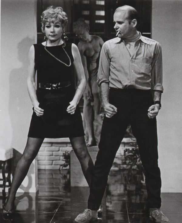 Shirley Maclaine couple