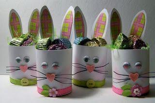 Reciclado+De+Carton+De+Huevos   Hogar-Mujer: MANUALIDADES PARA PASCUA CON OBJETOS RECICLADOS