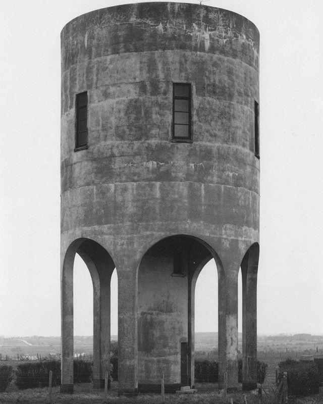 Interior Design Addict: #utilitarianarchitecture Water Tower, #brutgroup photo by Bernd and Hilla Becher, 1979, in Diepholz, Germany #utilitarianarchitecture | Interior Design Addict