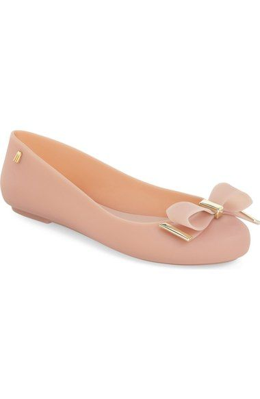 Melissa 'Space Love III' Jelly Flat (Women) available at #Nordstrom #JellyShoesOutfit
