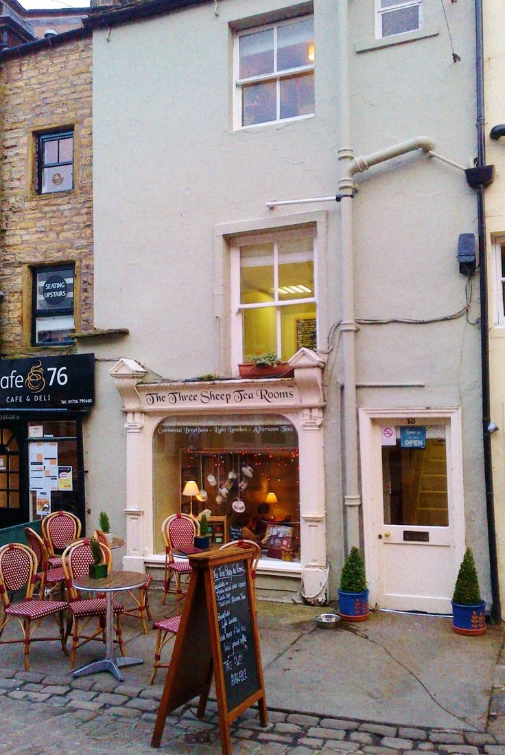 The Three Sheep Tea Rooms, Skipton, North Yorkshire