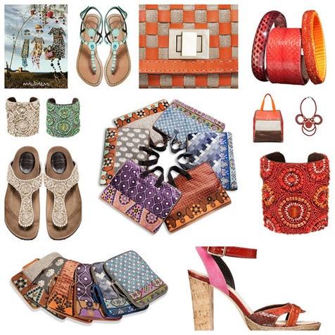 Mode voor aan de zuidelijke stranden van Italië