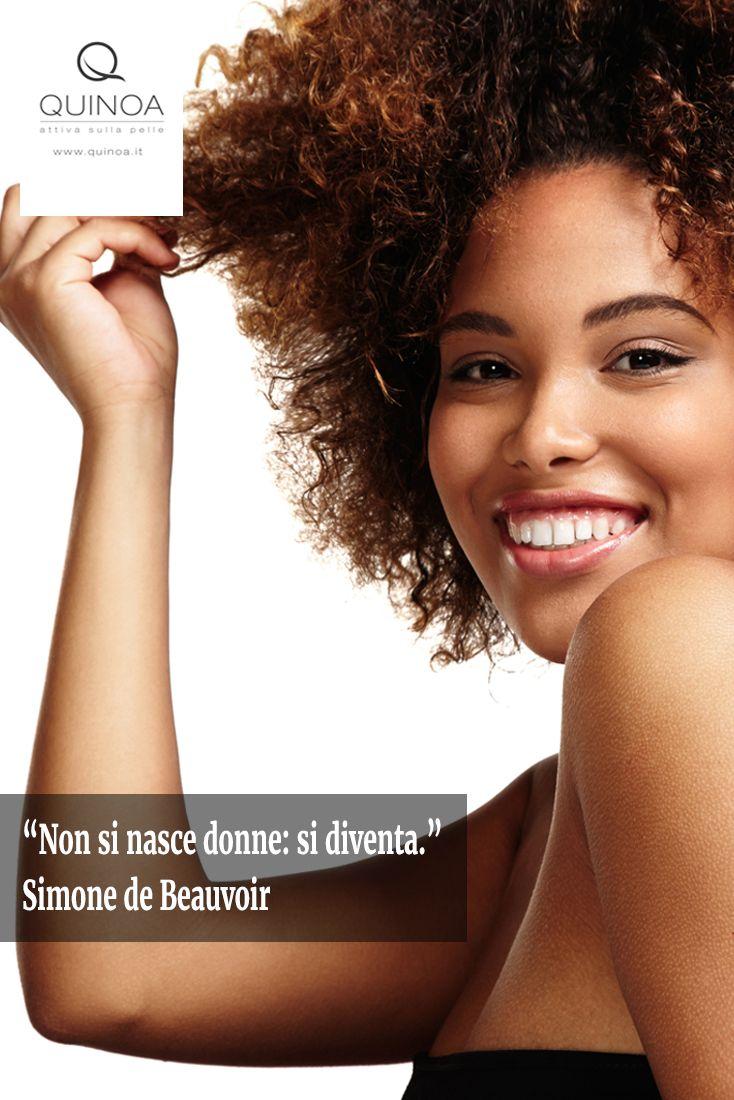 """Non si nasce donne: si diventa."" Simone de Beauvoir #donne #8marzo #festadelladonna"
