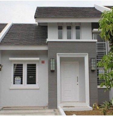 10 Pilihan warna cat rumah bagian luar yang elegan kaum ...