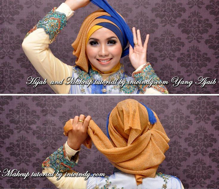 make up and hijab style beauty