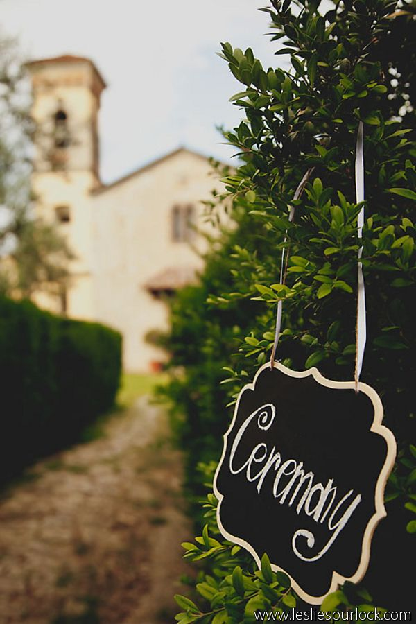 Romantic Wedding at Castello Vicchiomaggio
