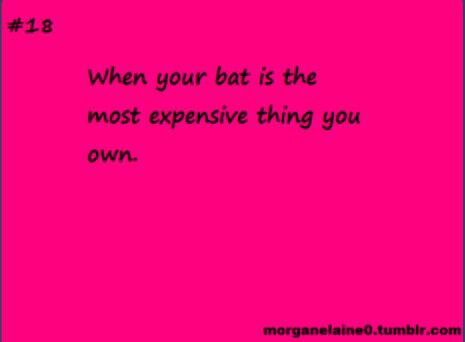 Softball quotes; best bat brands that I have used are demarini, Easton, and voodoo