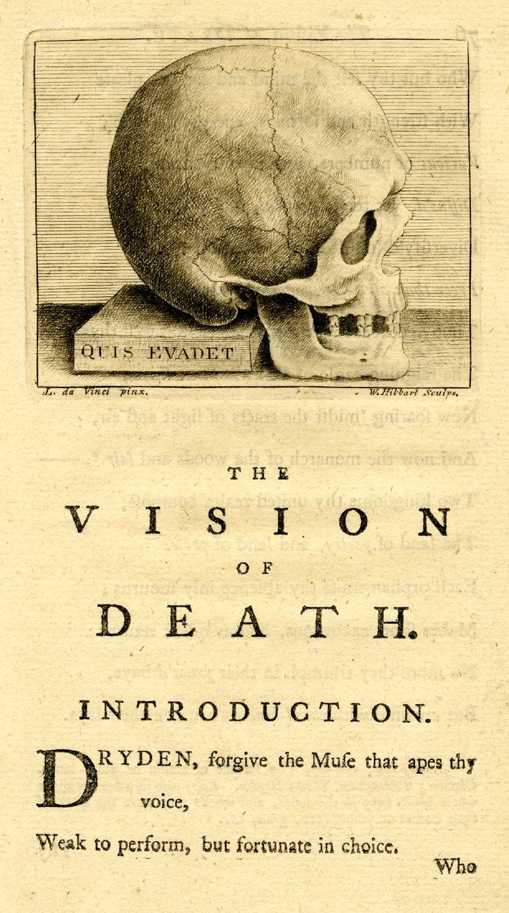 the vision of death