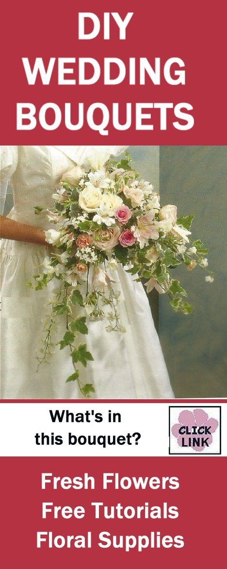 Learn How To Make A Mixed Bridal Bouquet Corsages Boutonnieres Centerpieces And Church Flowers Free Step By Tutorials Professional Wedding