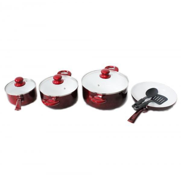 Ceramic Non-Stick Cookware -9 pieces
