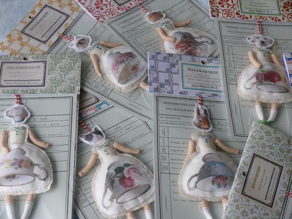 Annemoon van Steen - little luck bringer dolls.  So sweet!