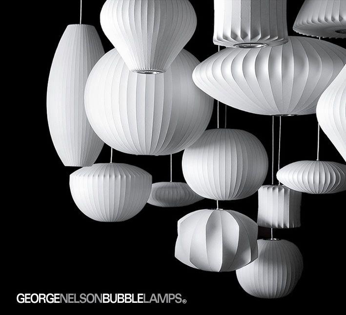 ミッドセンチュリーの代表的な照明 | ジョージネルソン | 照明のライティングファクトリー
