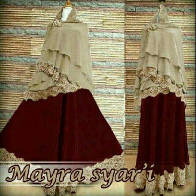 Saya menjual Mayra syari mocca seharga Rp155.000. Dapatkan produk ini hanya di Shopee! http://shopee.co.id/alunashop/4238313 #ShopeeID