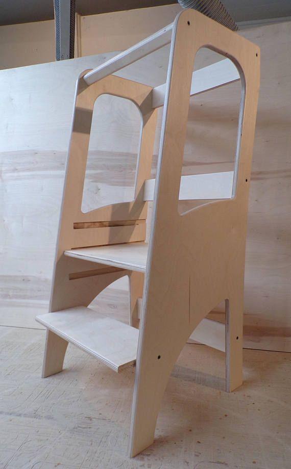 Classic Learning Tour Montessori Observation Tower Ladder Children Cooking Bench Escabeau Pour Enfants Projets De Menuiserie Et Meuble Enfant