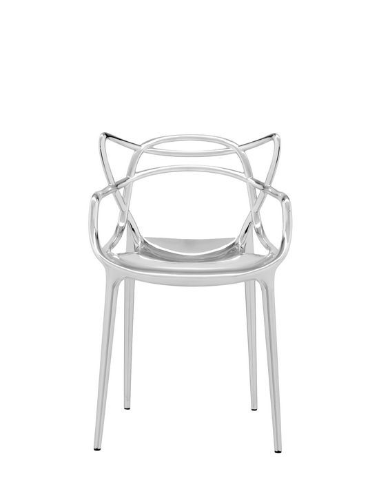Kartell - Masters - Philippe Starck - a combination of 3 symbolic chairs - Series 7, Tulip Armchair, Eiffel Chair