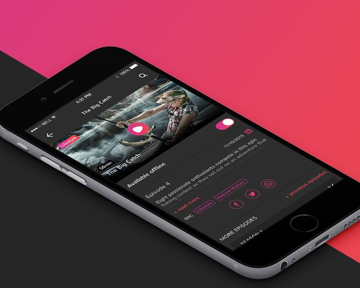 """Check out this @Behance project: """"Vdeo App"""" https://www.behance.net/gallery/38519905/Vdeo-App"""