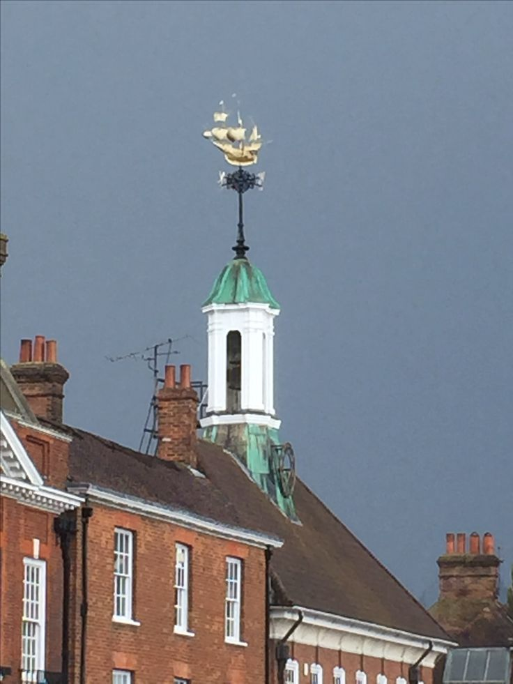 Farnham Old Town Hall The Golden Hind made by Thomas Elsley