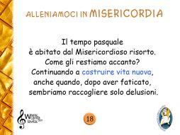 18_Allenarsi Misericordia III Pasqua