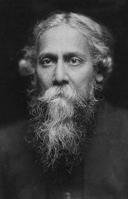 Rabindrath Tagore (May 7, 1861 - August 7, 1941) Indian poet and writer (and winner of the Nobel Prize for Literature in 1913). Descubra Lendas da Literatura no E-Book Gratuito em http://mundodelivros.com/e-book-25-escritores-que-mudaram-a-historia-da-literatura/