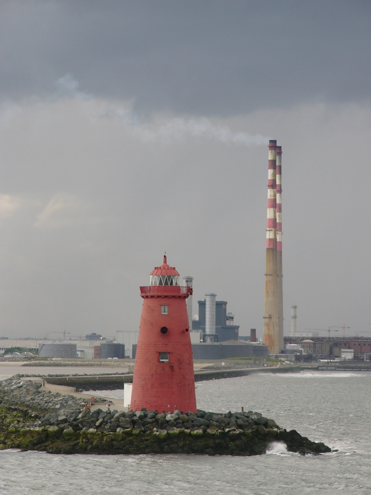The chimneys and the lighthouse