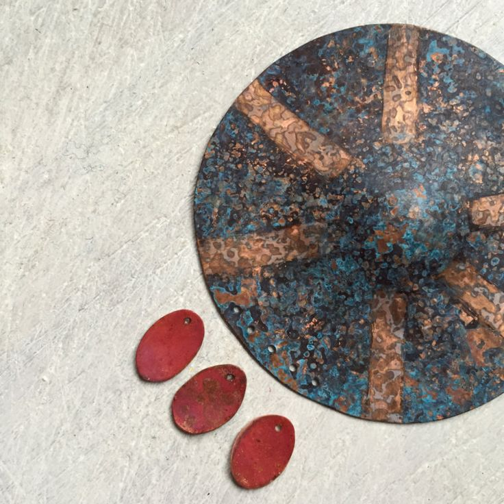 Working on new patinas... Stay tuned!