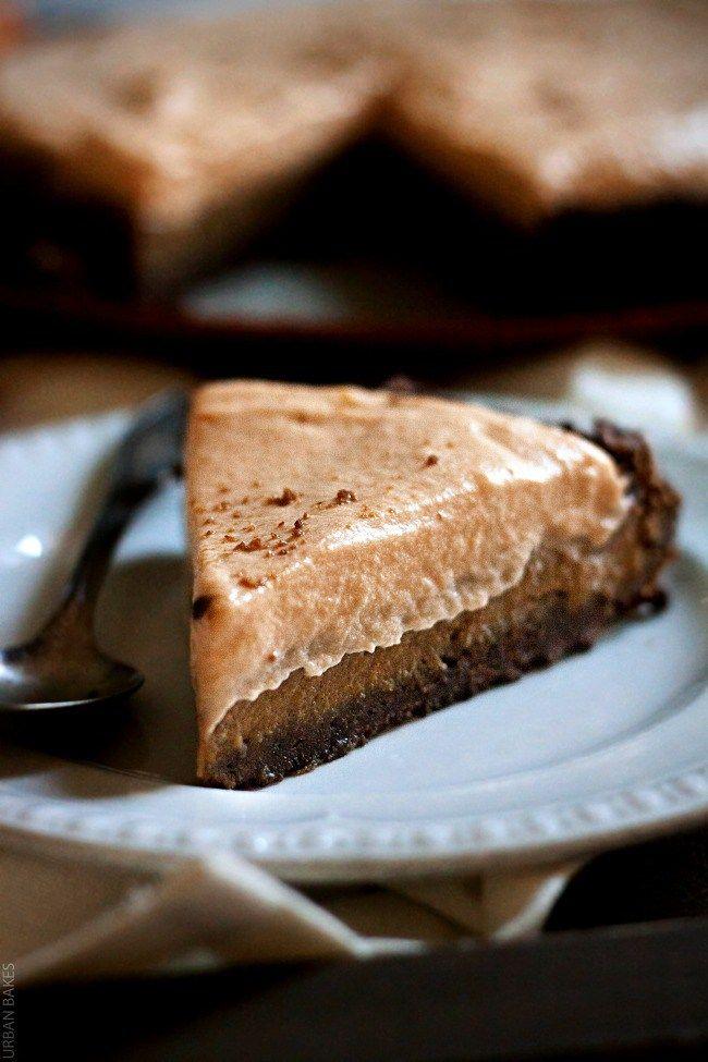 Gingersnap and Pumpkin Butterscotch Cream Pie - URBAN BAKES