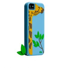 Stick your neck out with Leafy (giraffe) for your iPhone5. This case definitely is head and shoulders above the rest.