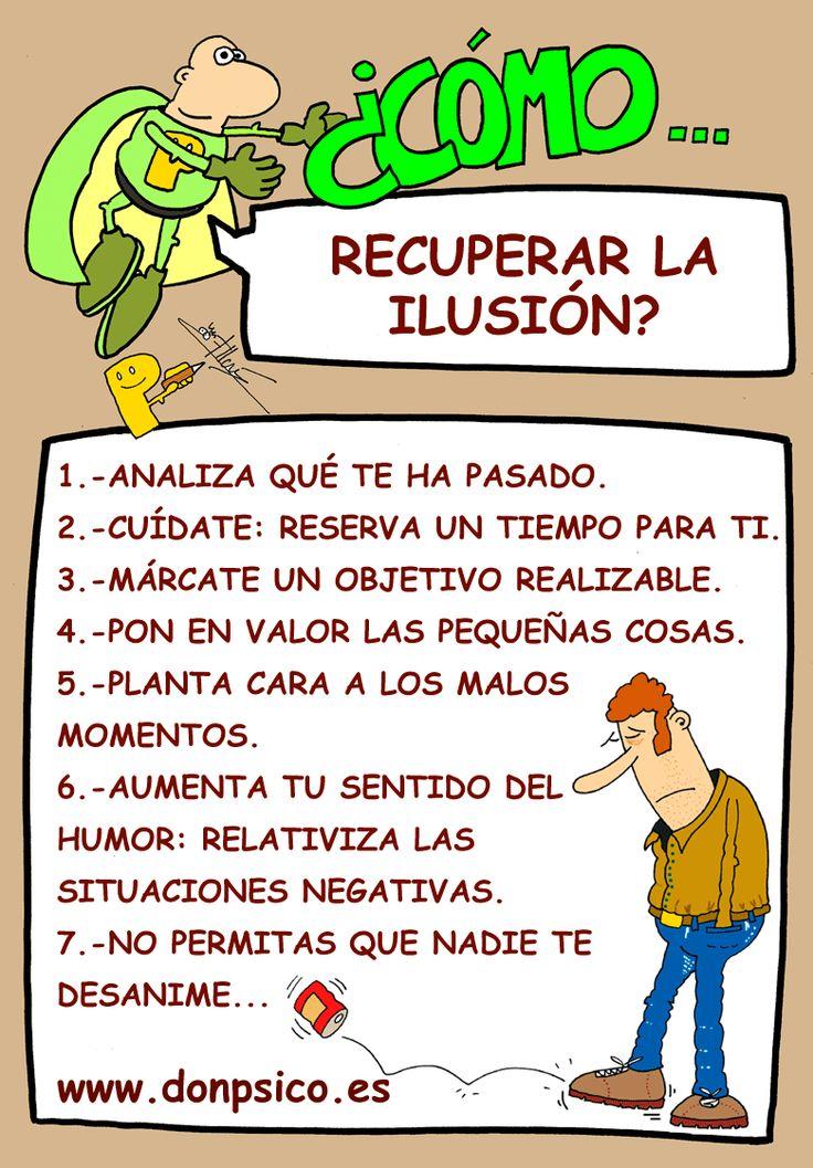 ¿Cómo recuperar la ilusión?