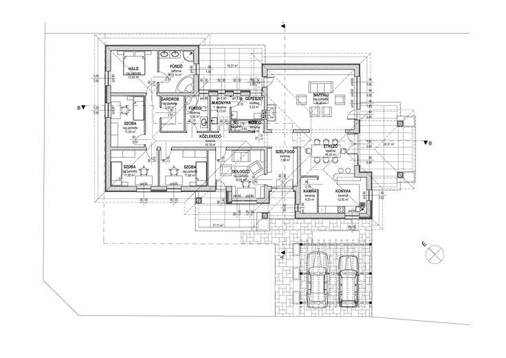Egyszintes családi ház 195 m2 - Családiházam.hu
