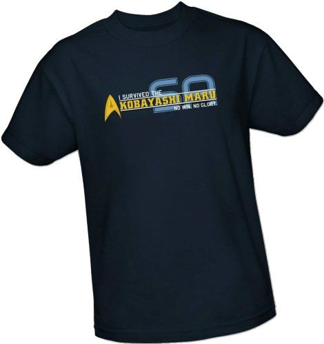 I Survived The Kobayashi Maru – Star Trek – Starfleet Academy T-Shirt