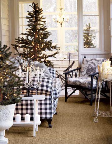 El árbol de navidad esel gran protagonista de la decoración deestosambientes y un elemento casi  indispensable e...