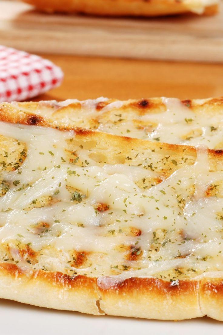 Great Garlic Cheese Bread with Mozzarella #Recipe