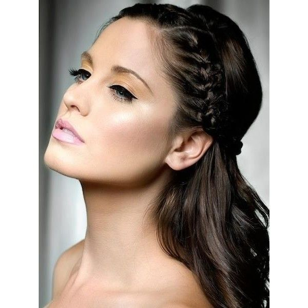 Braided Wedding Hairstyles For Long Hair found on Polyvore