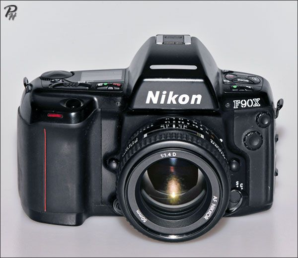 My first camera: Nikon F90x (N90s) camera http://www.photographic-hardware.info