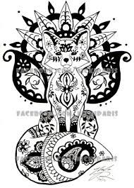 traditional henna animals - Google Search