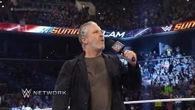 Jon Stewart's WWE Debut