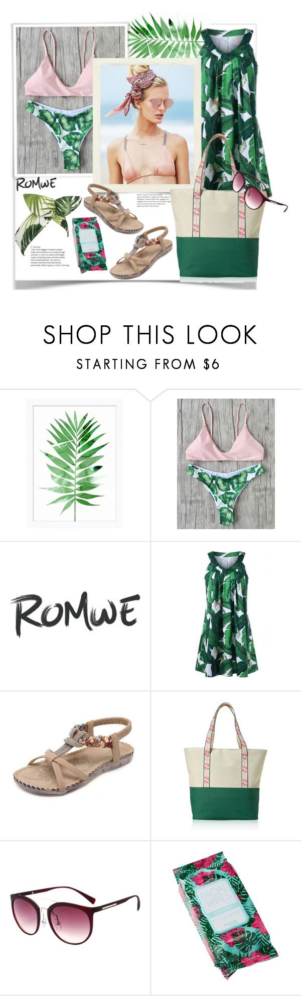 """""""Romwe."""" by natalyapril1976 ❤ liked on Polyvore featuring Pottery Barn, Beach Riot, Avon, Charlotte Russe and Lulu in the Sky"""