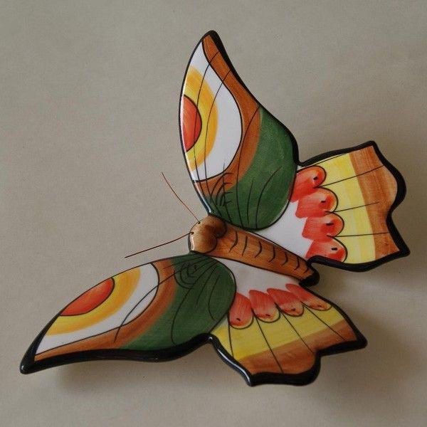 mariposas de ceramica como pintarlas - Buscar con Google
