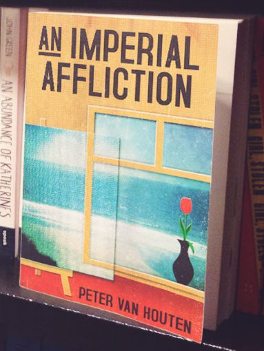 An Imperial Affliction: Hazel's favorite book, fuels her thinking about mortality, along with her cancer. This book is the reason Hazel and Augustus go to Amsterdam, to find out what happens after the main character of An Imperial Affliction suddenly stops writing. The book is a key piece in the story because it introduces ideas of existence and death. It also leads to new characters, settings, and issues.