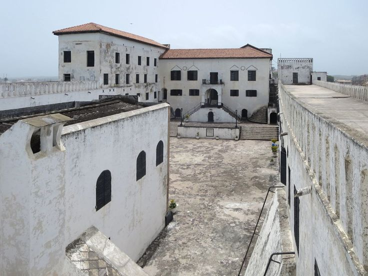 St. George's Castle (1482) in Elmina, Ghana, is one of the oldest European structures in sub-Saharan Africa.