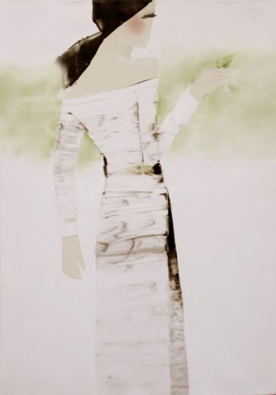 Lovely fresh painting by Nguyen Dieu Thuy