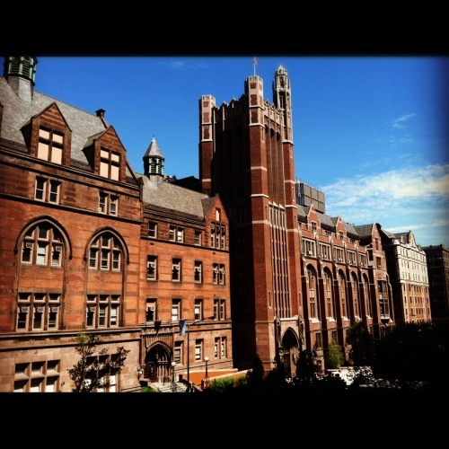 Teachers College at Columbia University, New York City.  Talk about being inspired...
